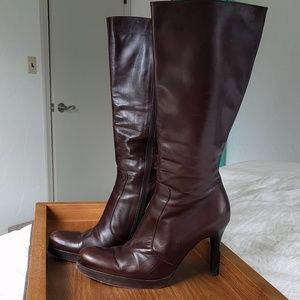 Kenneth Cole Chocolate Brown Tall boots